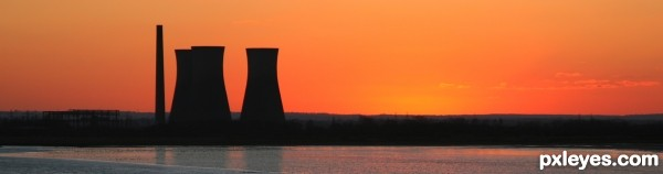 Richborough Sunset