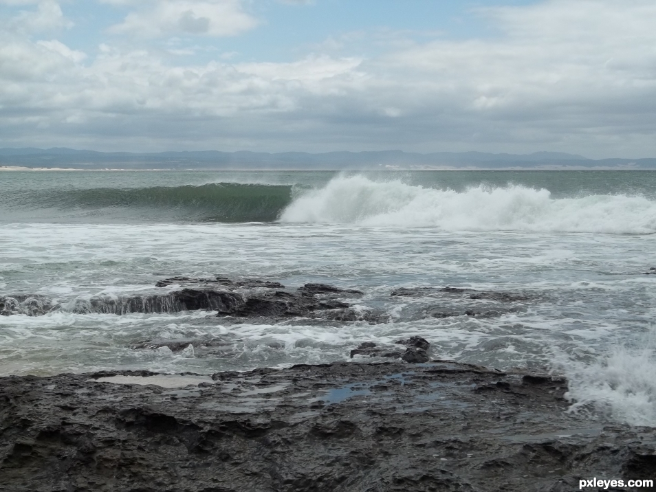 Jeffreys Bay wave
