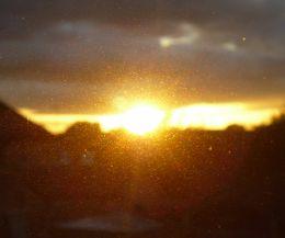 The Sunlight Passing Through My Eyes