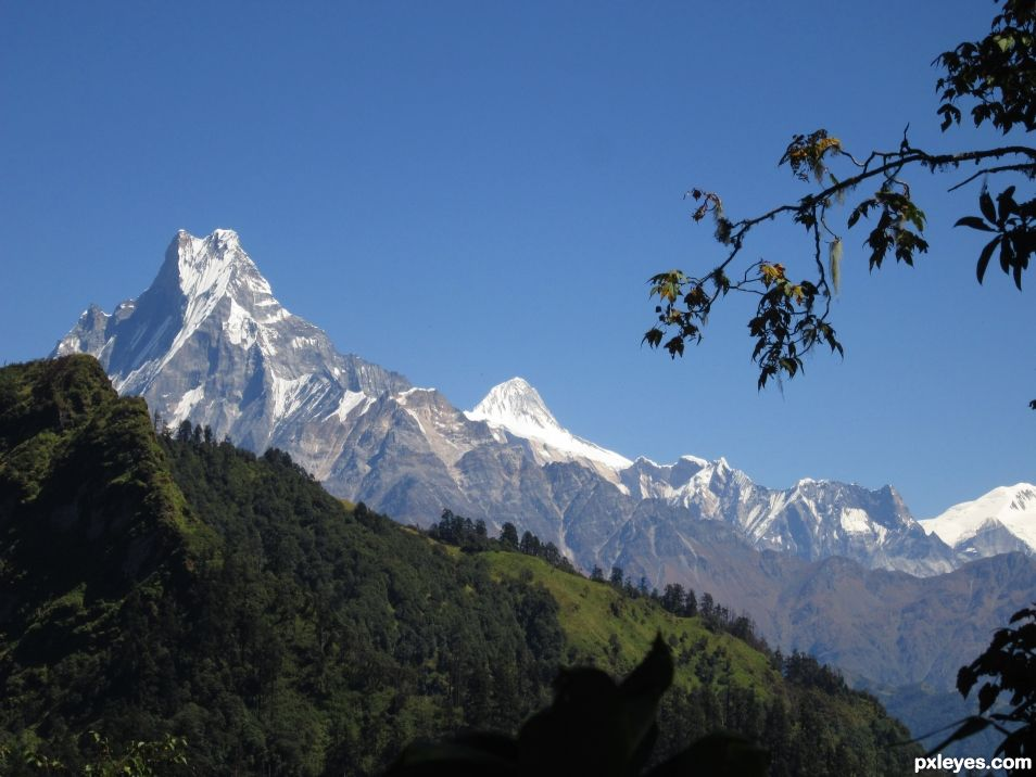 Mount Fistail; Lure of the Trekkers