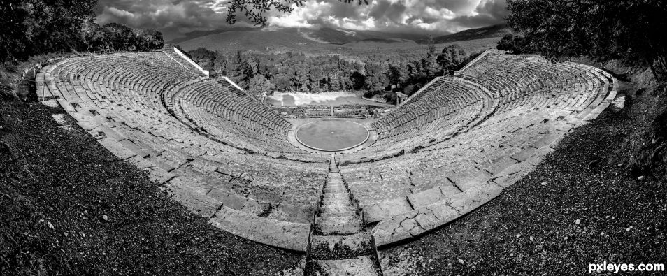 Ancient Theater of Epidaurus - Architecture & Acoustics Perfection