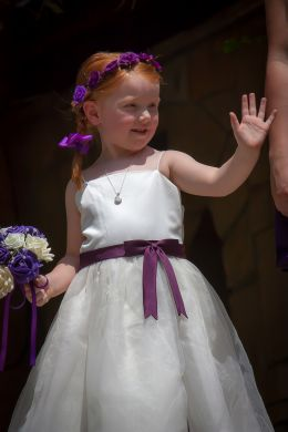 Proud Niece As Bridesmaid