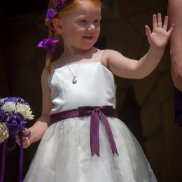 Proud Niece As Bridesmaid Picture