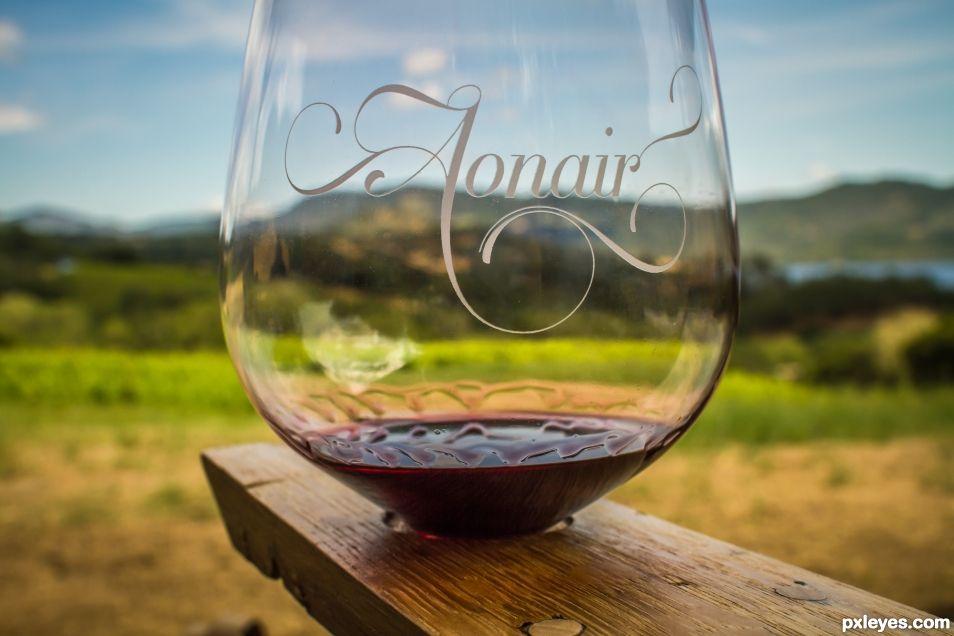 Aonair Wine Glass
