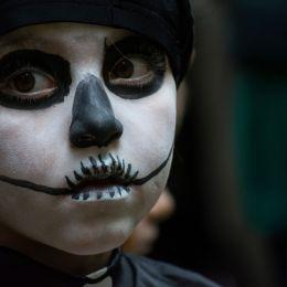 Halloweenvisitor