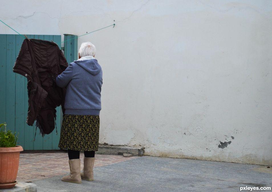 Street Grandma