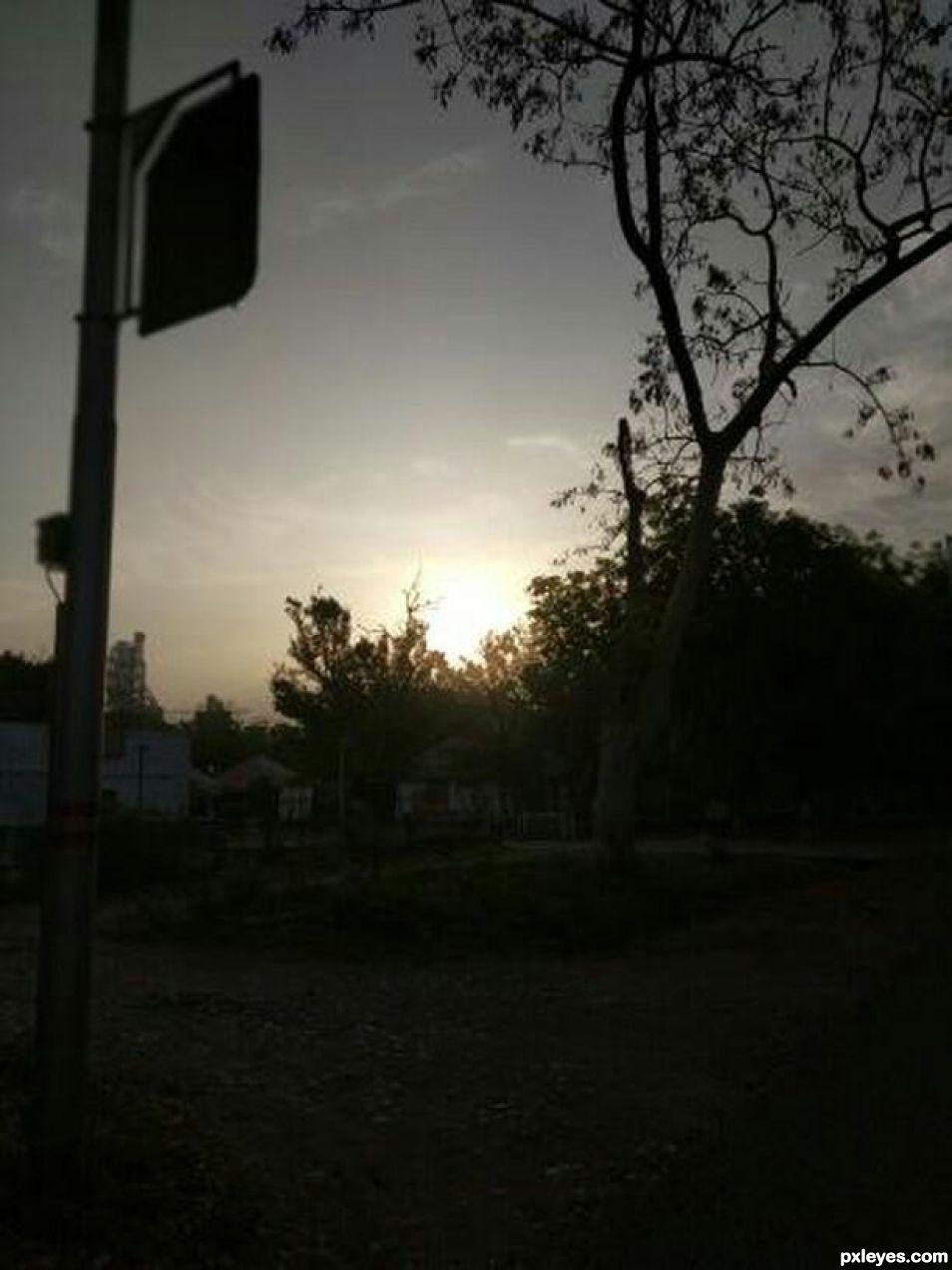 My mobile morning shot