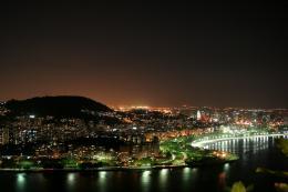 Rio de Janeiro Night Sky