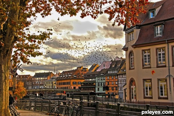 Fall in Strasbourg