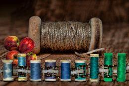 Apple Yarn Scale Thread