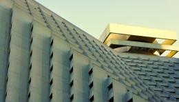 Brutal Grey Building