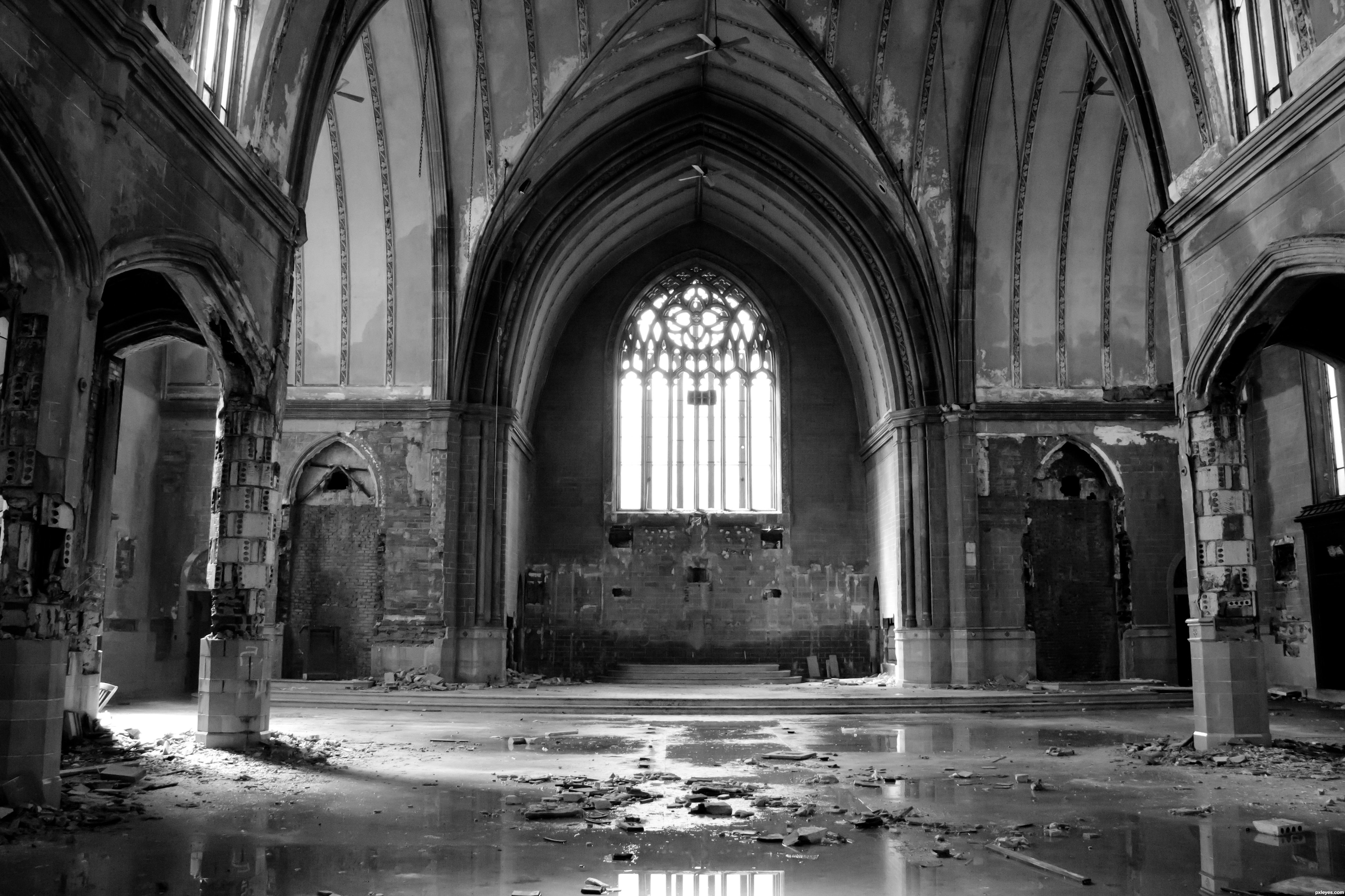 Abandoned Church pinterest • the world's catalog of ideas