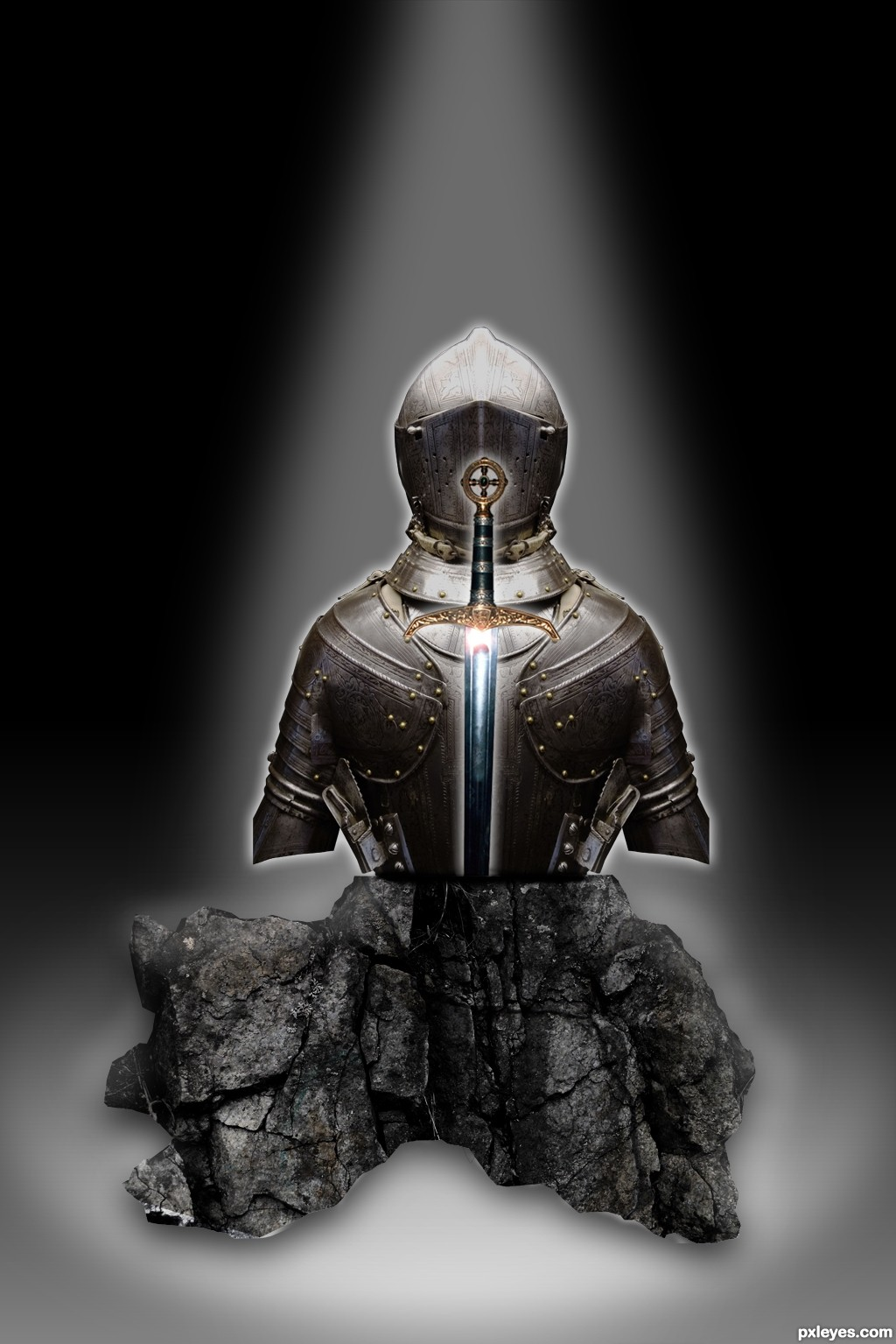 The meaning and origin of the expression: A knight in shining armour