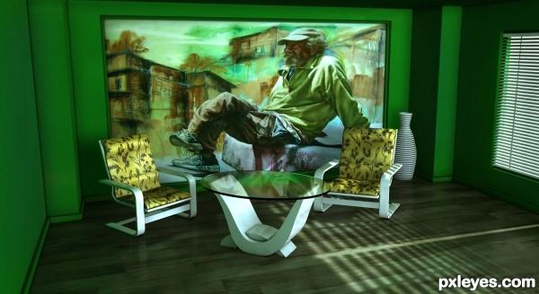 ArtDeco Style Room