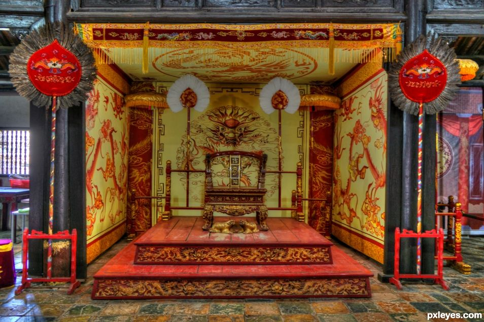 Royal Throne Imperial City of Hue