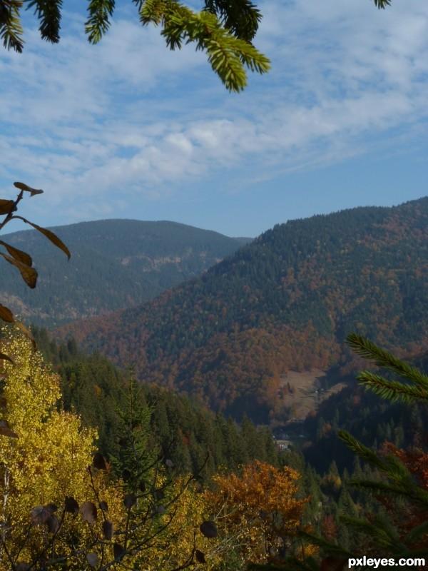 Drăgans  valley, Romania.