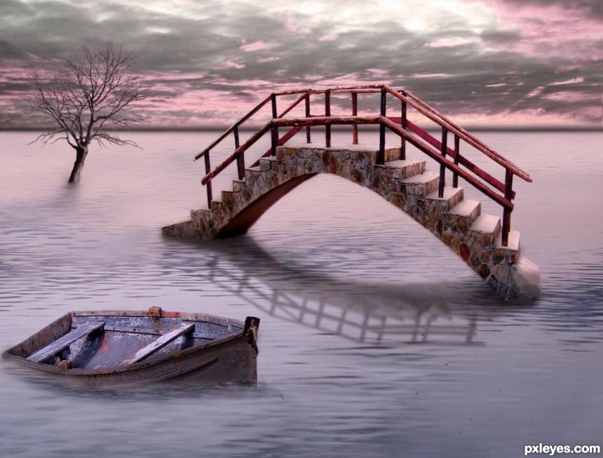 Bridge To Nowhere photoshop picture)