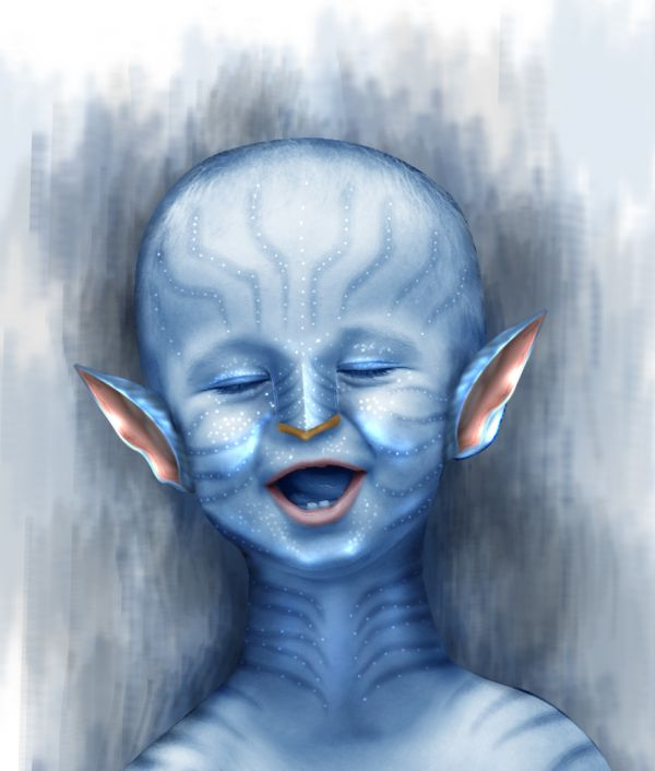 Avatar Kid photoshop picture