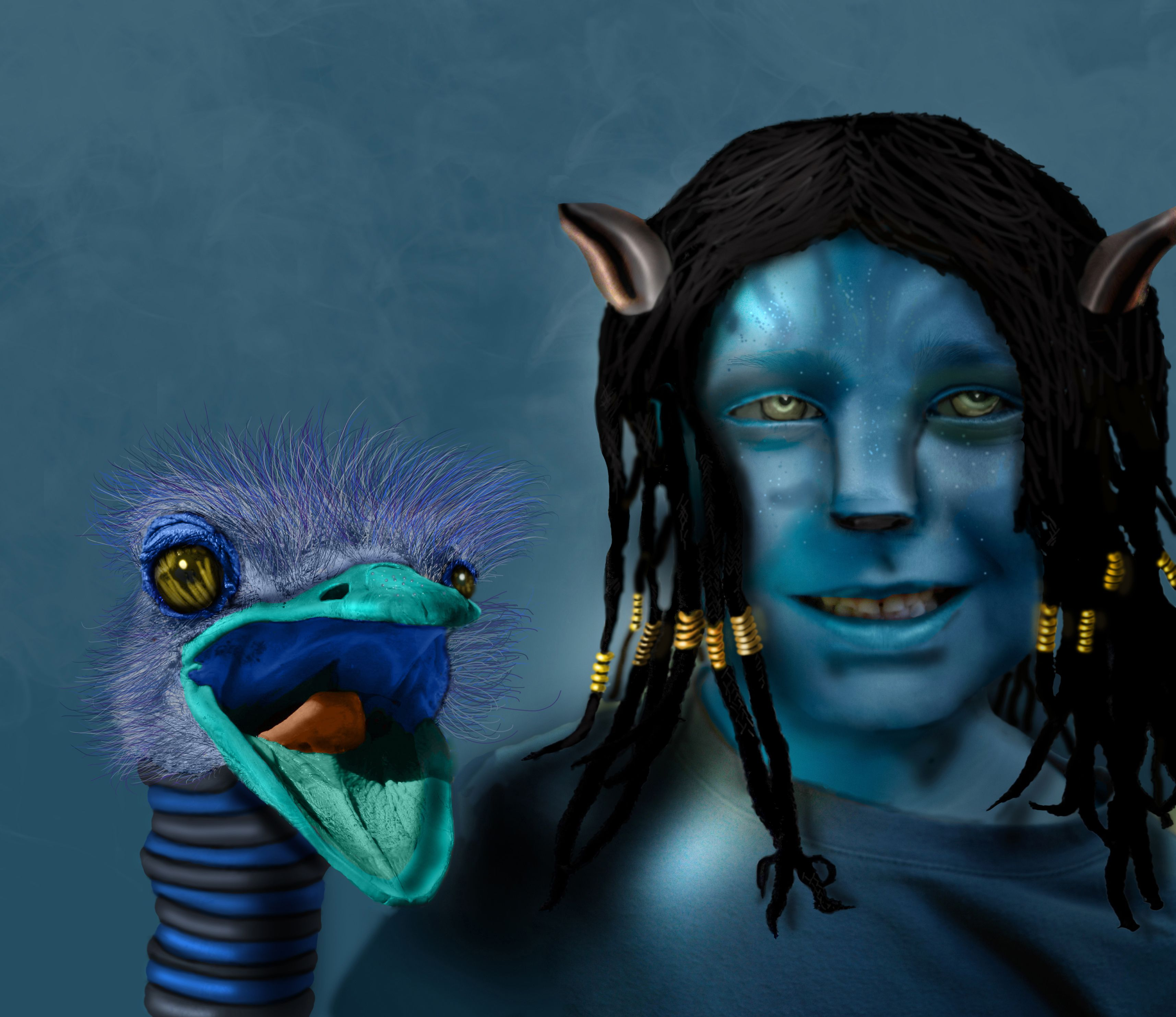 Best Friends Picture, By Donh For: Avatar Mania Photoshop