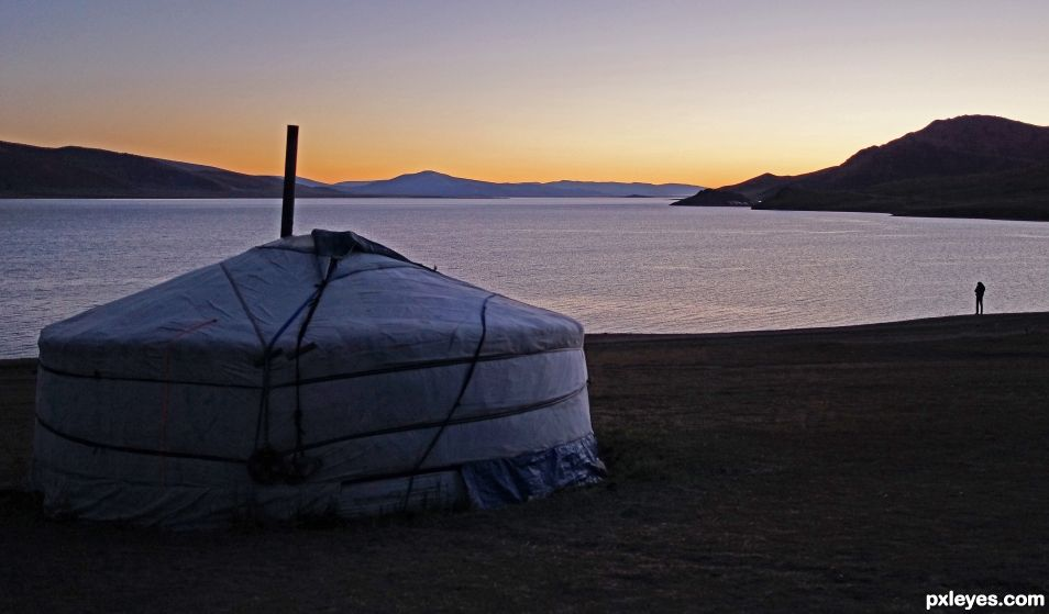 Our Yurt in MOngolia