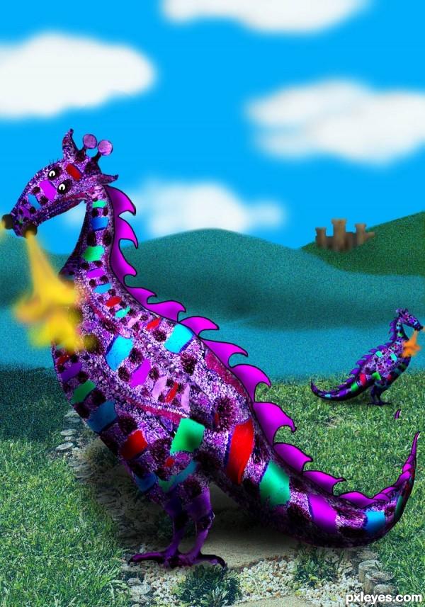 Land of Calico Dragons