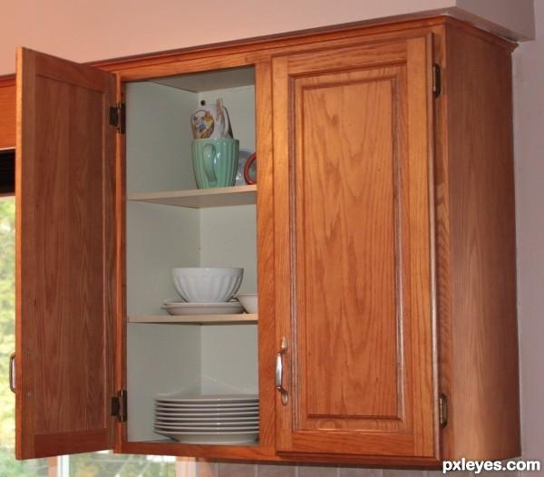 Leaving cupboard doors open