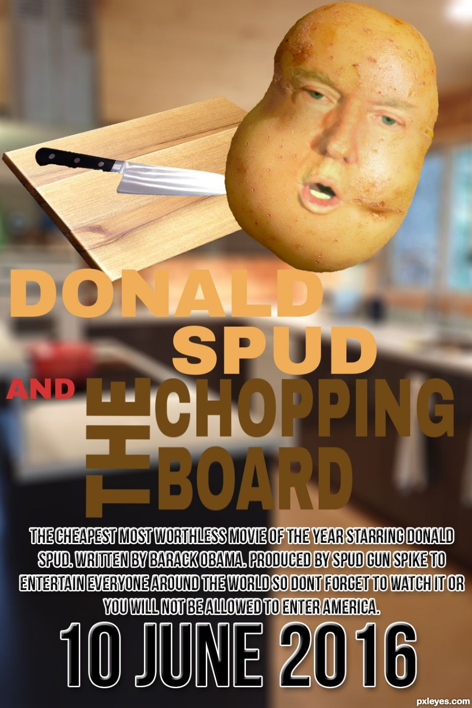 Donald Spud and The Chopping Board with updated sources