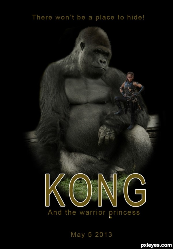Kong And The Warrior Princess