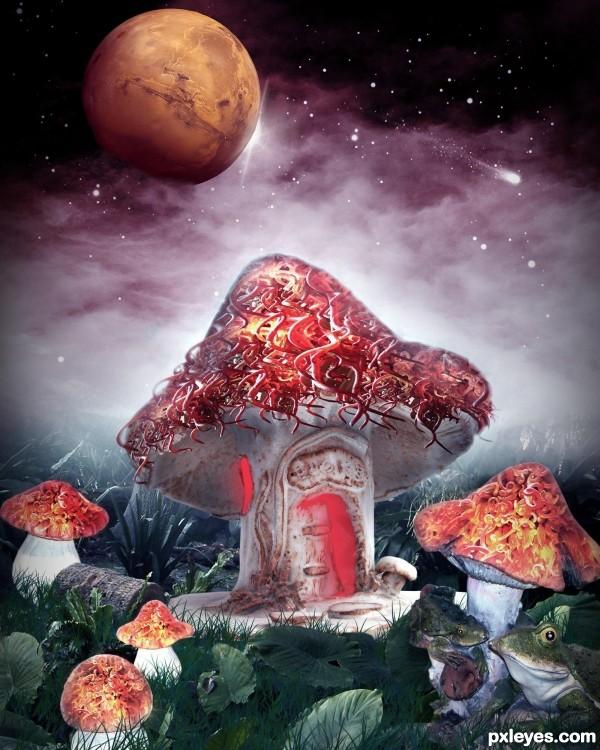fantasy mushroom