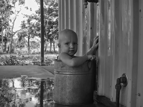 Bucket of Baby photoshop picture