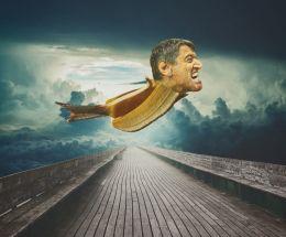 Flying Banana Man