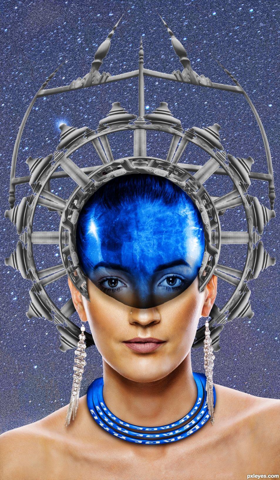 Steel Blue Queen