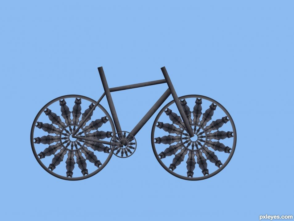 Creation of Unique Bike: Step 4