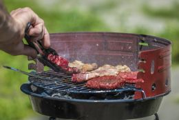 Red BBQ equals Red Meat