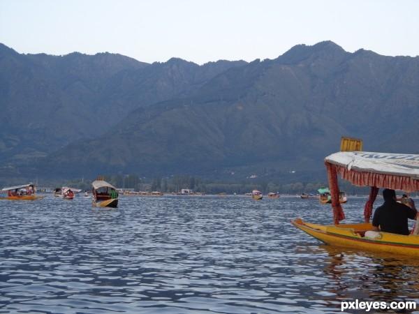 Beauty of lake