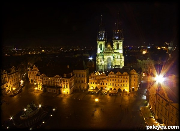 Night + Architecture