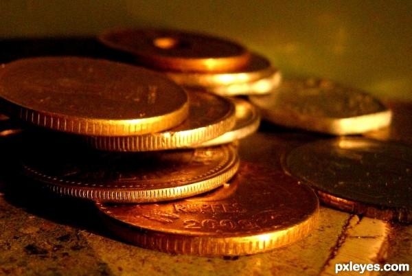 coins....