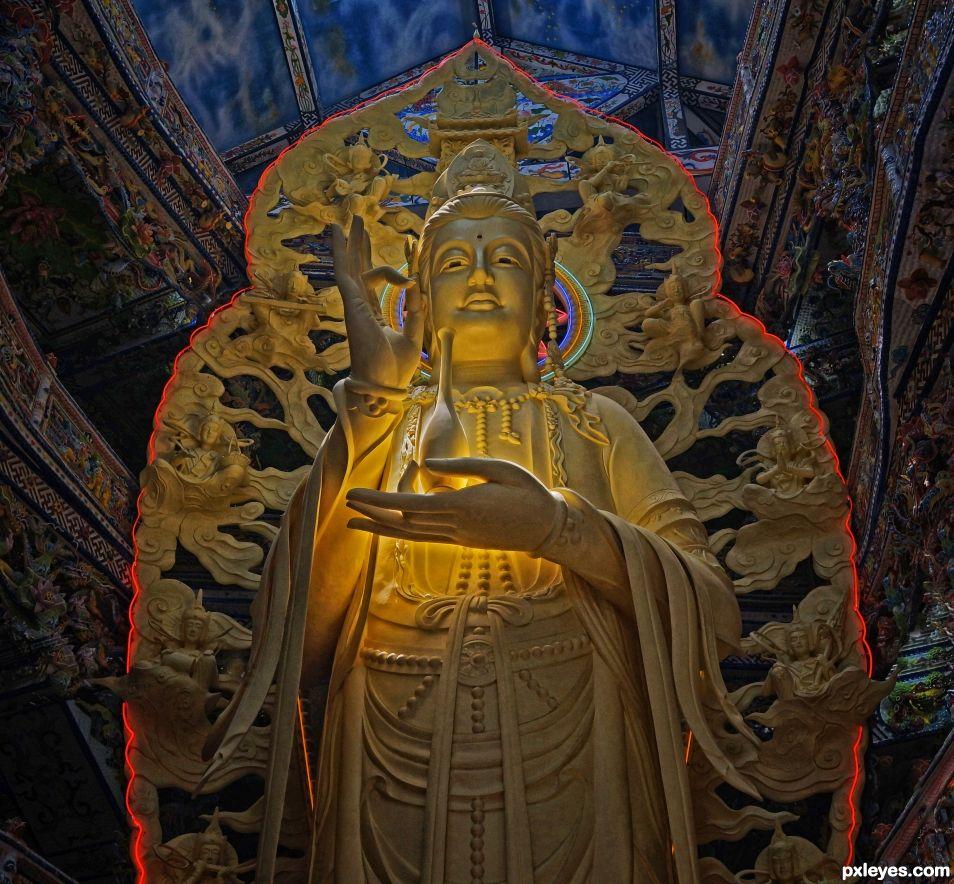 Goddess of Compassion, Quan Am