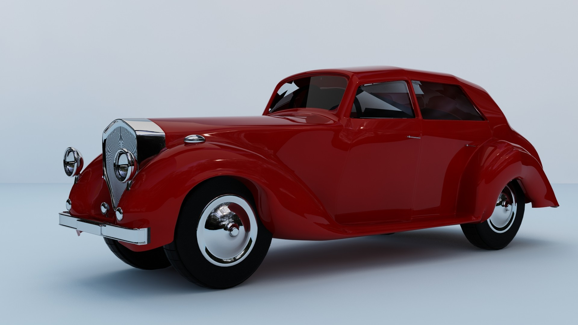 Bentley Mk.IV 1950 - created
