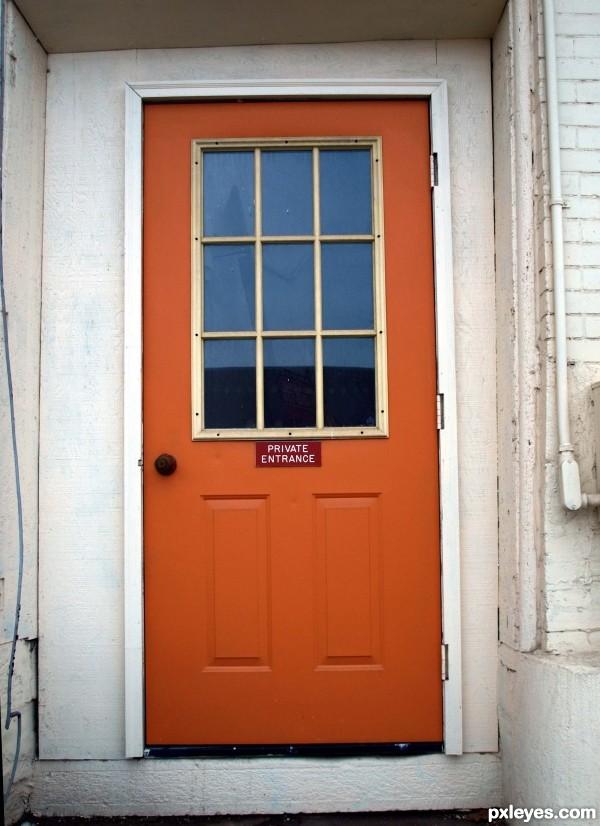 Orange door & Orange door picture by emilymnewell for: best stock photography ...
