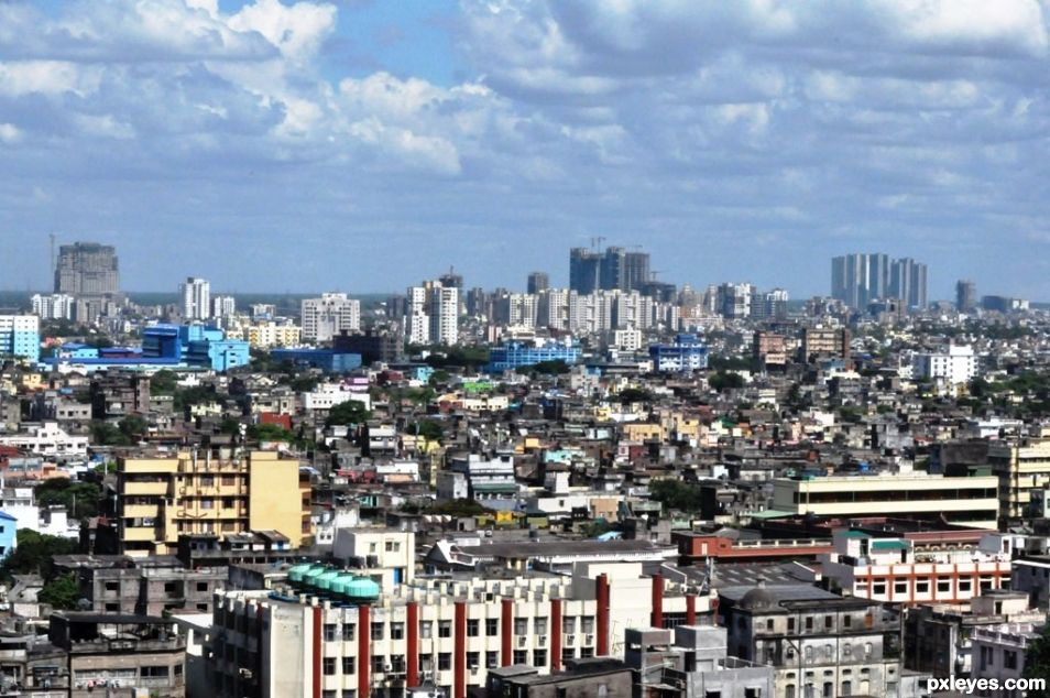 The Skyline of Kolkata