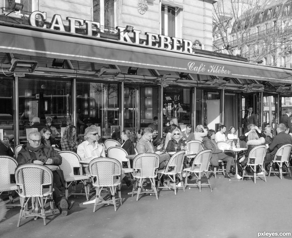Paris- Cafe Kleber