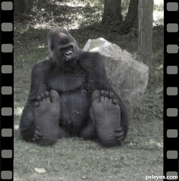 Bigfoot on film: 1922