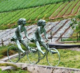 twinbikergirlatfarm