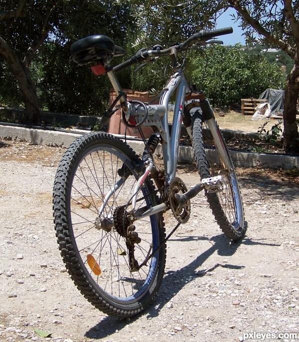 Authors own bike