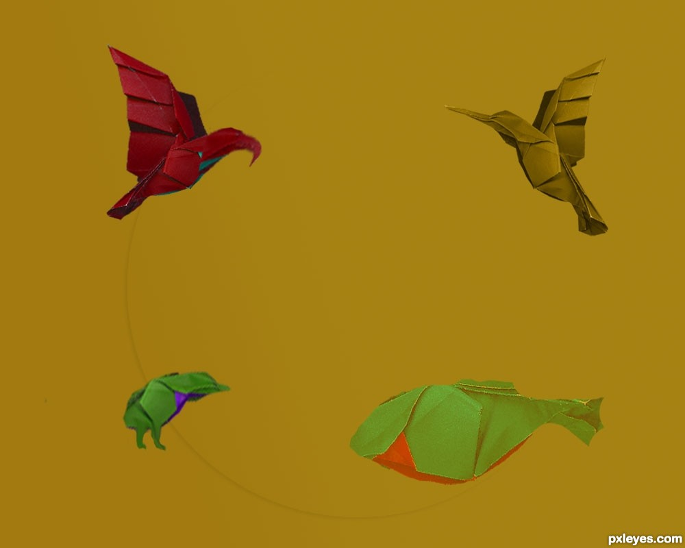 origamiz picture by designed for bird origami photoshop