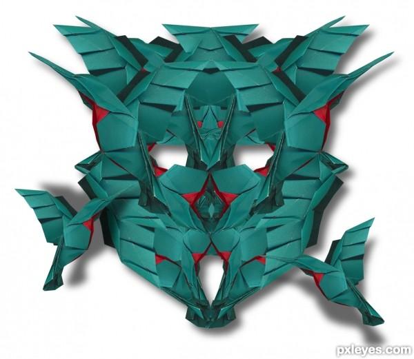 transformer bird face