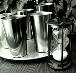Timeless Aluminum glasses