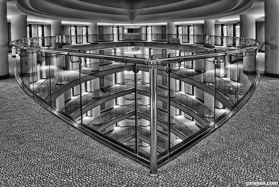 Hotel Interior photoshop picture)