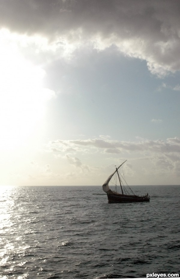 Sailing Into The Sun